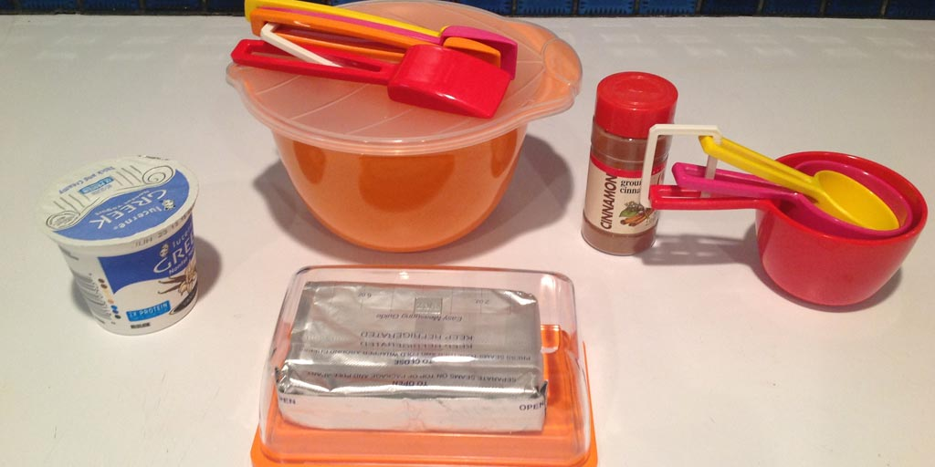 Fruit Dip in a Lunch Container Recipe