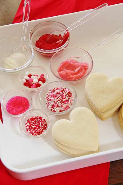 Decorate Your Own Valentine Cookies Recipe