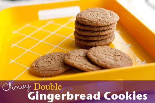 Image for Chewy Double Gingerbread Cookies Recipe Chewy Double Gingerbread Cookies Recipe