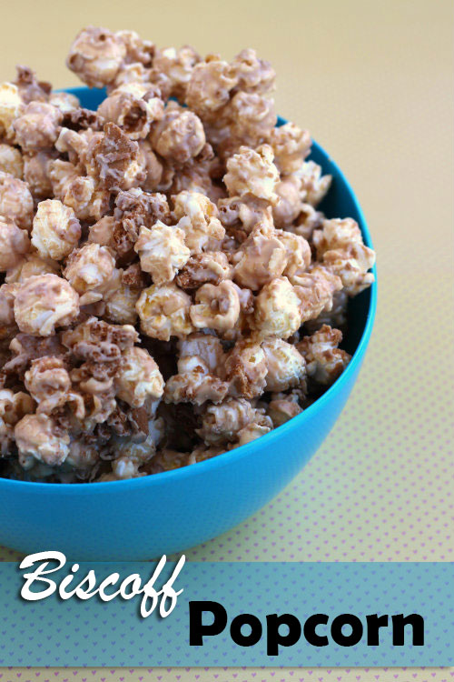Image for Biscoff (Cookie Butter) Popcorn Recipe Biscoff (Cookie Butter) Popcorn Recipe