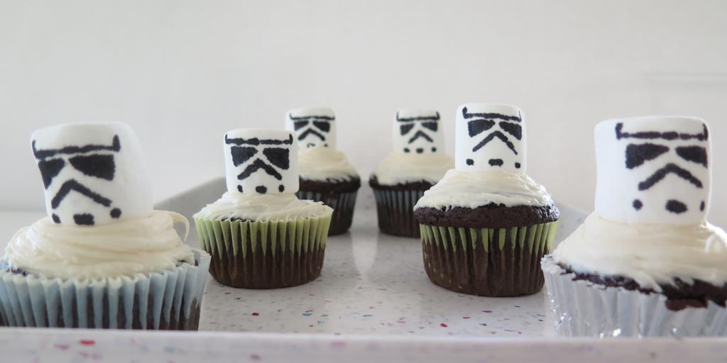 Star Wars Stormtrooper Cupcake Recipe