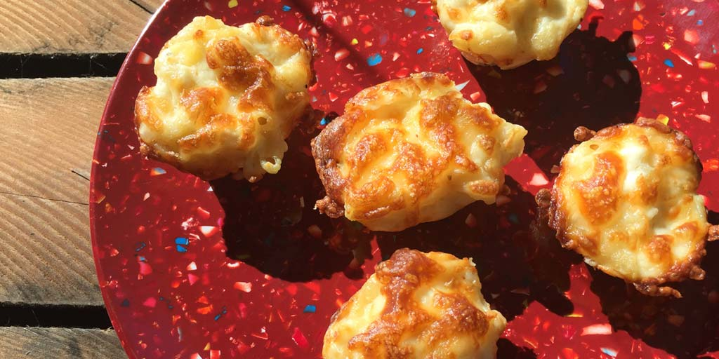 Baked Mac and Cheese Cupcakes Recipe