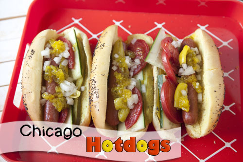 Chicago Dogs at Home Recipe