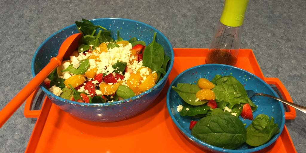 Image for Fresh Strawberry and Spinach Salad Recipe Fresh Strawberry and Spinach Salad Recipe
