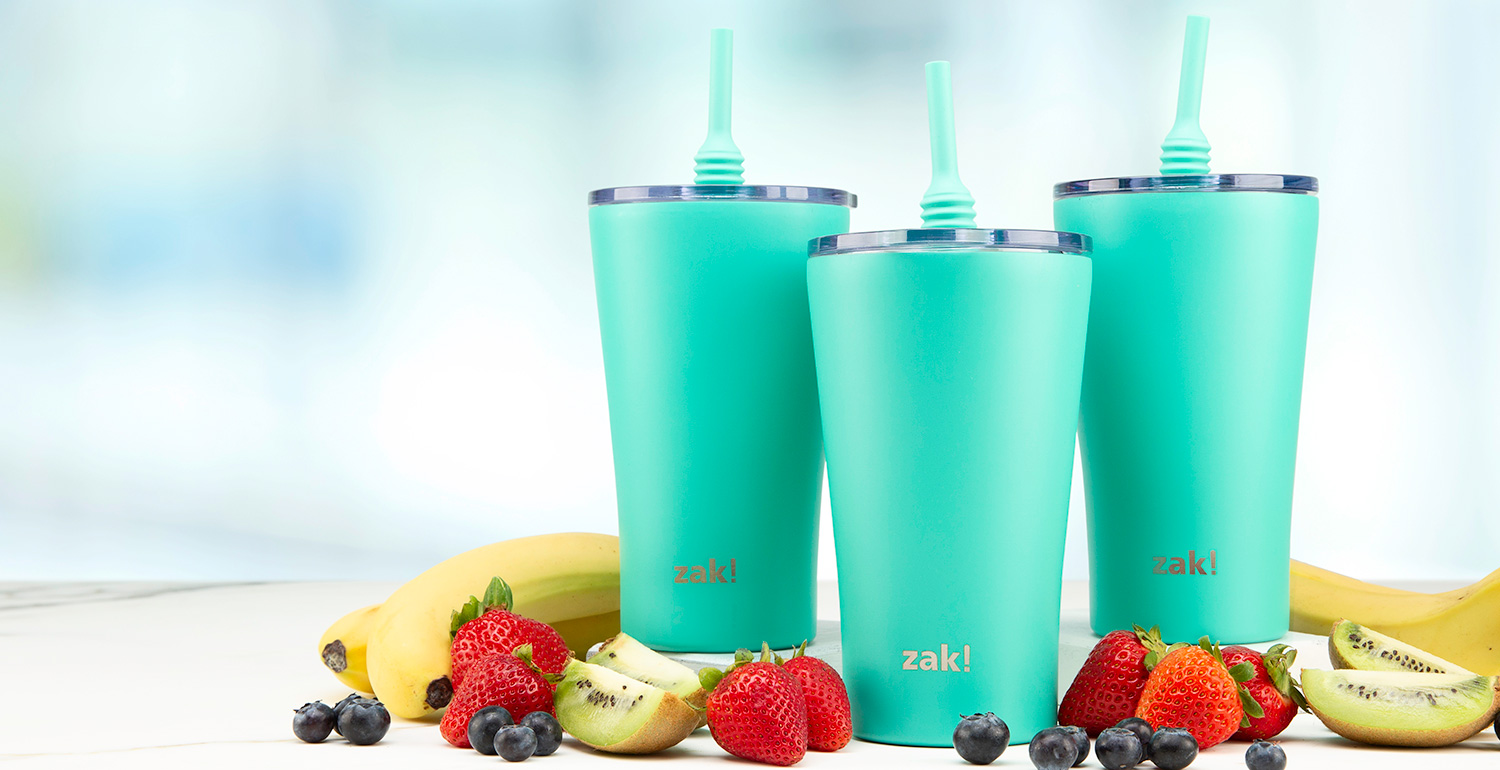 tumblers with straws image