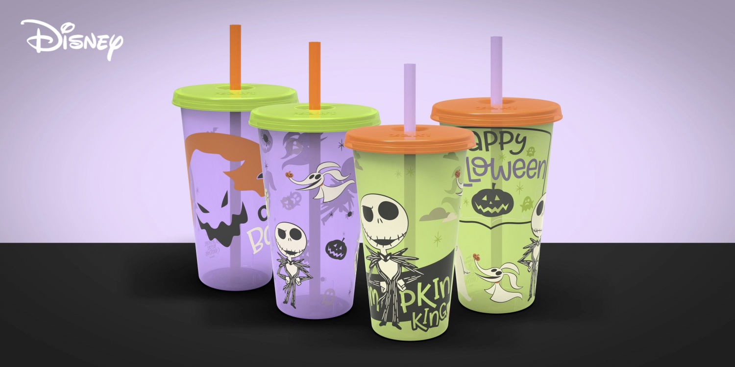 glow-in-the-dark tumblers for your favorite spooky drinks