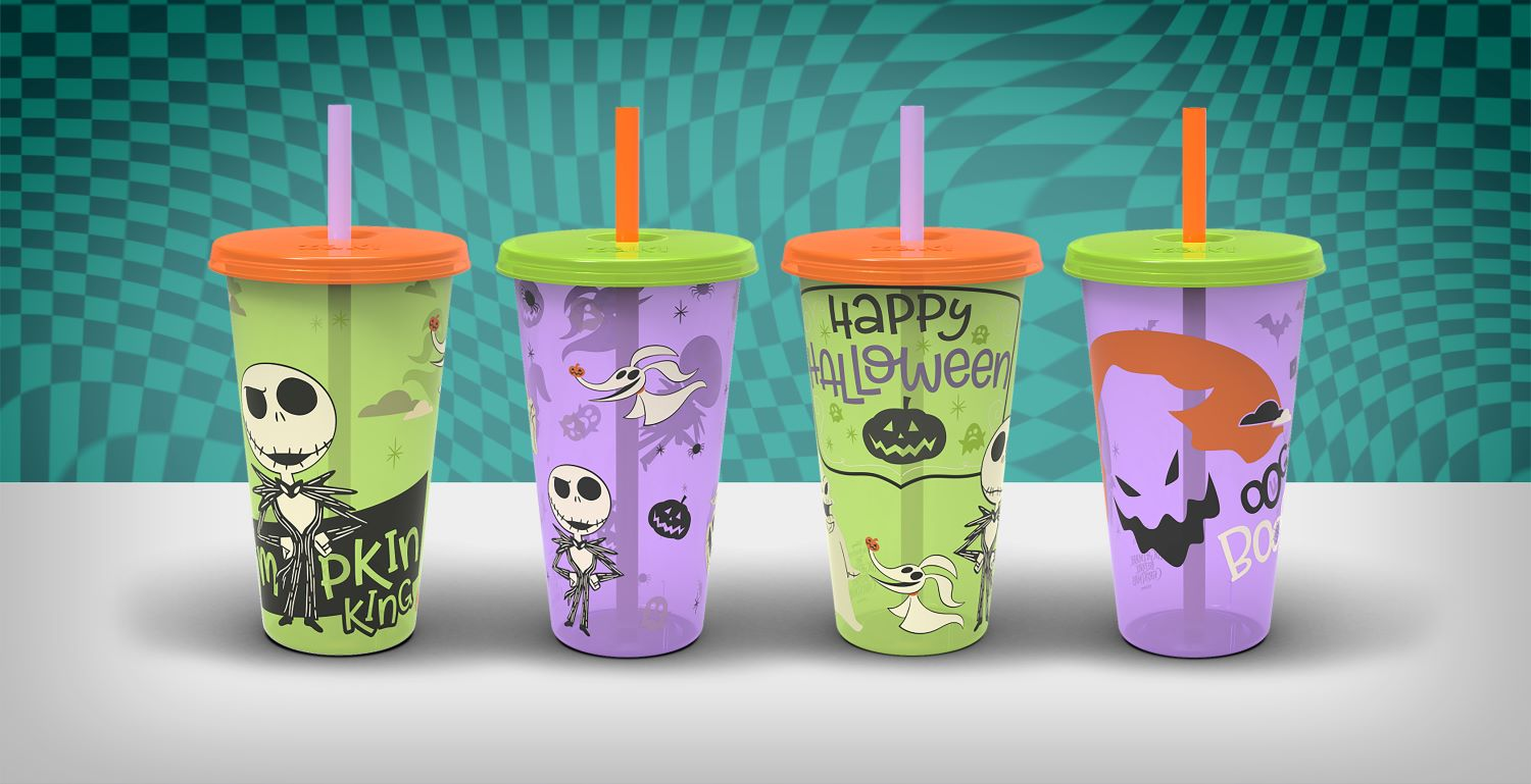 this is halloween glow-in-the-dark tumblers