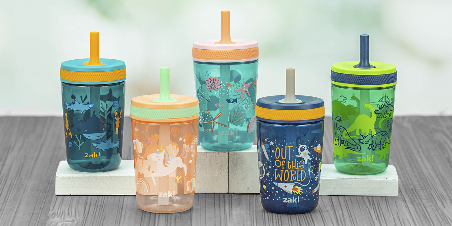 kelso collection leak-proof straw tumblers