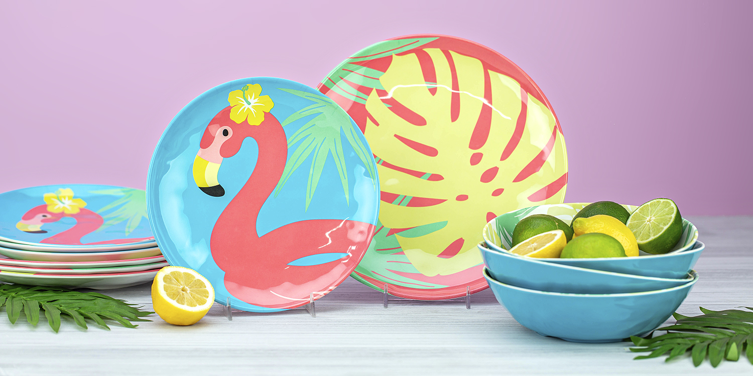 summer prints for your seasonal tablescape