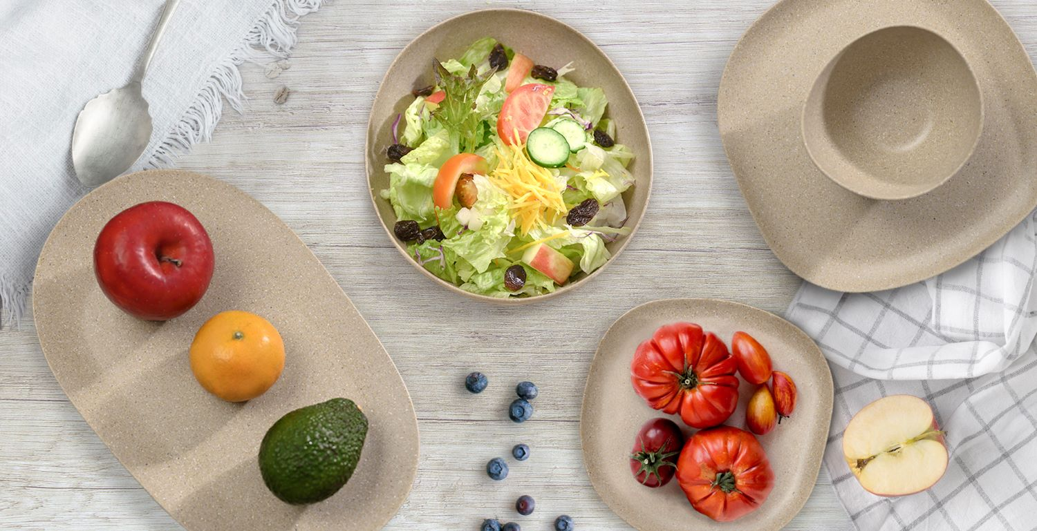 elements dinnerware natural beauty